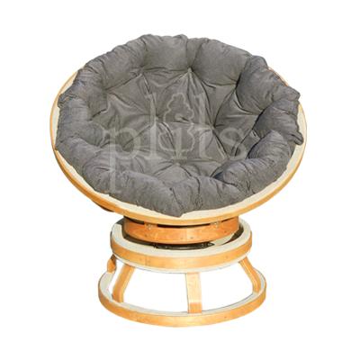 Кресло Papasan PL-2 круглое мягкое для отдыха и релакса